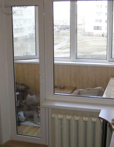 фото откосы на балконную дверь и окно в Донецке 002