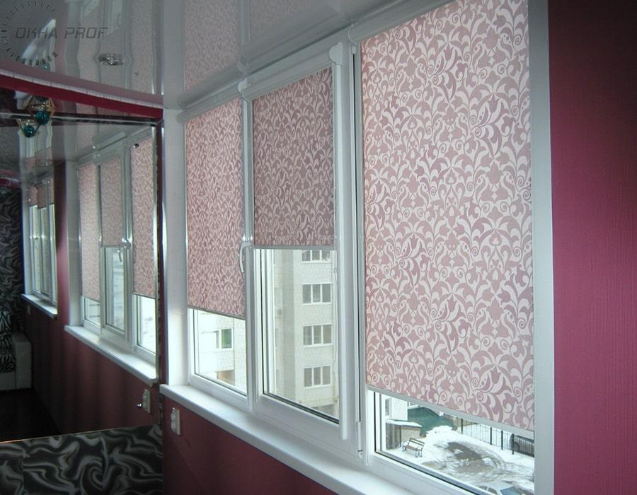 фото рулонные шторы в Донецке 002
