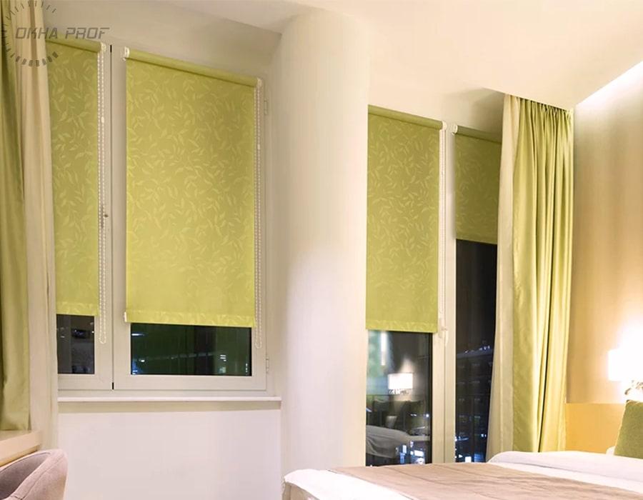 фото рулонные шторы в Донецке 014
