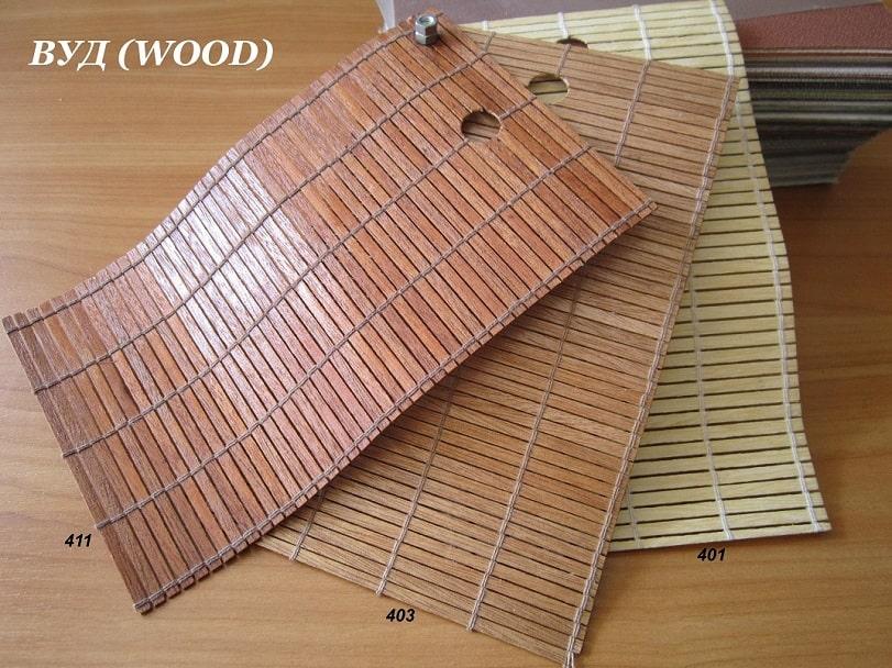фото вертикальные жалюзи Wood