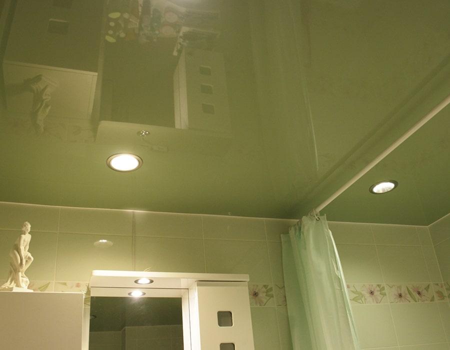 фото натяжной потолок глянцевый Донецк 002