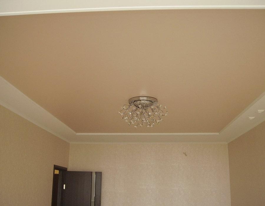 фото натяжной потолок матовый Донецк 004