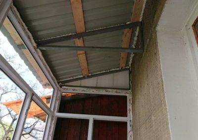 фото крыши для балкона в Донецке 2