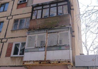 фото балкон до ремонта вид с улицы 002