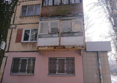 фото балкон до ремонта вид с улицы