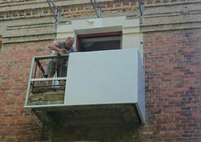 фото обшивка балкона последний этаж ОкнаПроф Донецк 001