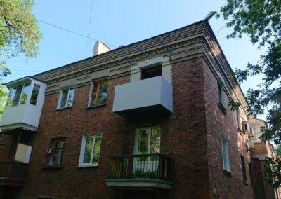 фото обшивка балкона последний этаж Окна Проф Донецк 003