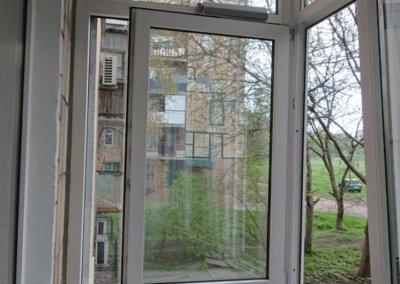 фото внутренняя отделка балкона Окна Проф Донецк 002