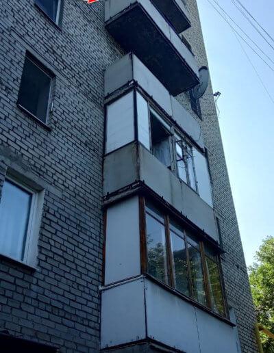фото балкона до ремонта