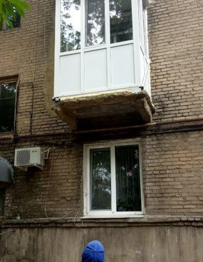 фото маленький французский балкон в Донецке Киевский пр