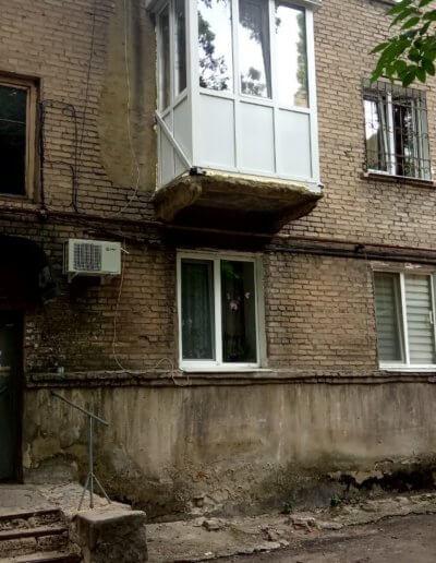фото мелкий французский балкон Донецк Киевский проспект