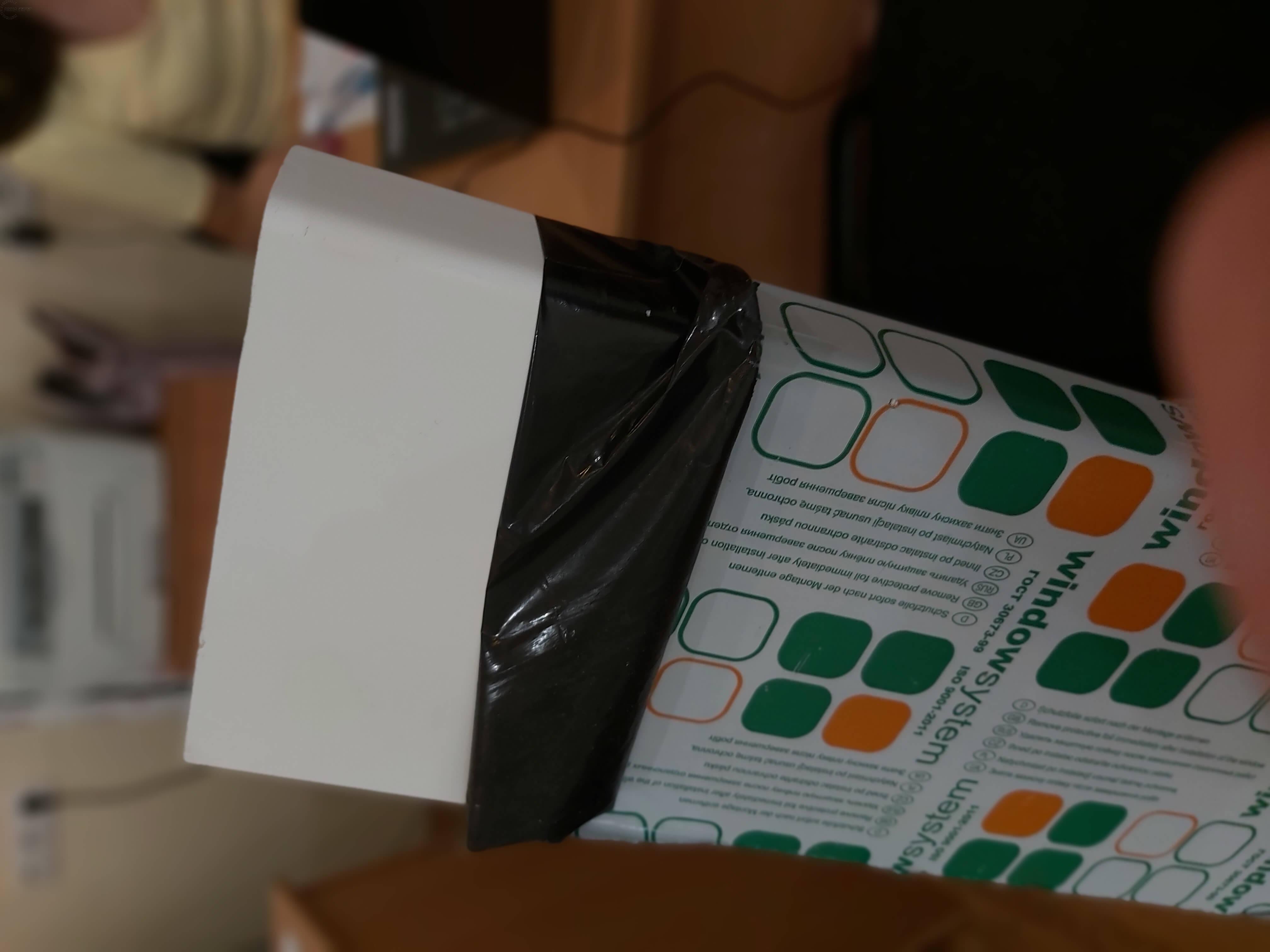 фото пластиковый подоконник ПВХ производство Россия