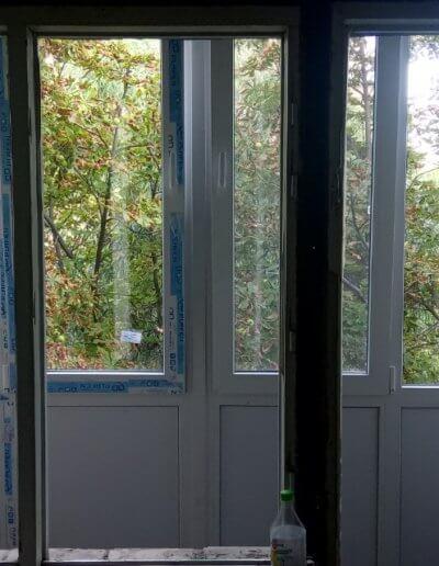 фото французский балкон вид из квартиры Амвросиевка Окна Проф