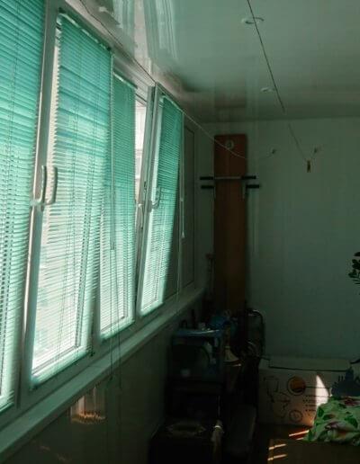 фото жалюзи на лоджии ул Университетская компания Окна Проф Донецк 2019