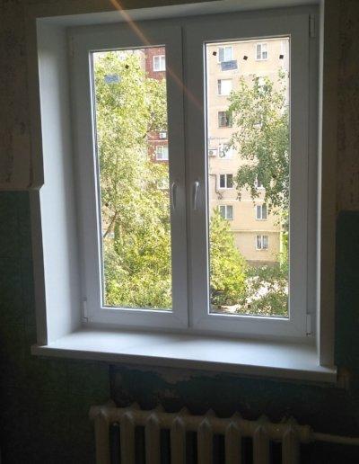 фото откосы на окна из сэндвич панелей Окна Prof Донецк 005