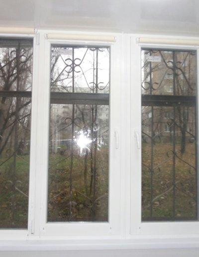 фото откосы на окна из сэндвич панелей Окна Prof Донецк 006