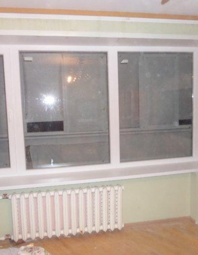 фото откосы на окна из сэндвич панелей Окна Prof Донецк 007
