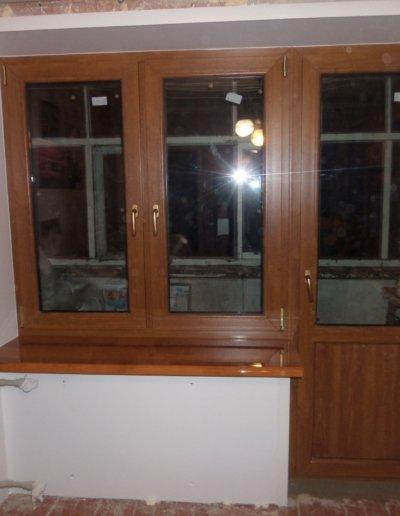 фото откосы на окна из сэндвич панелей Окна Prof Донецк 008