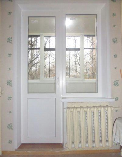 фото откосы на окна из сэндвич панелей Окна Prof Донецк 009