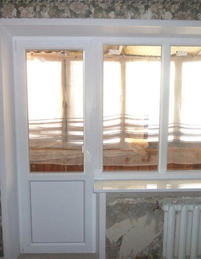 фото откосы на окна из сэндвич панелей Окна Prof Донецк 010