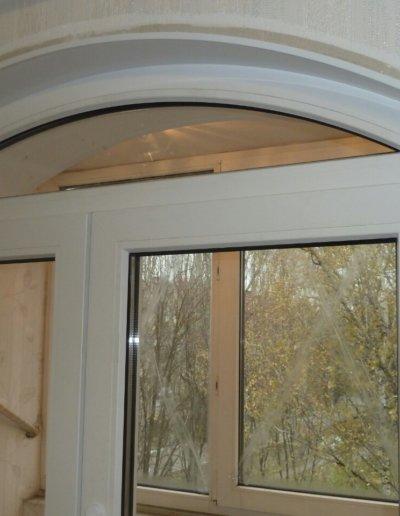 фото откосы на окна из сэндвич панелей Окна Prof Донецк 011