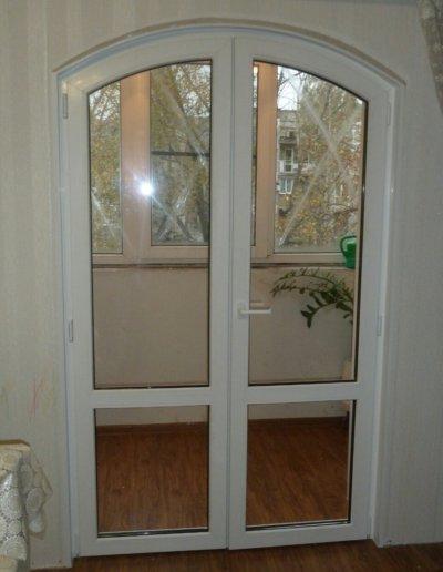 фото откосы на окна из сэндвич панелей Окна Prof Донецк 012