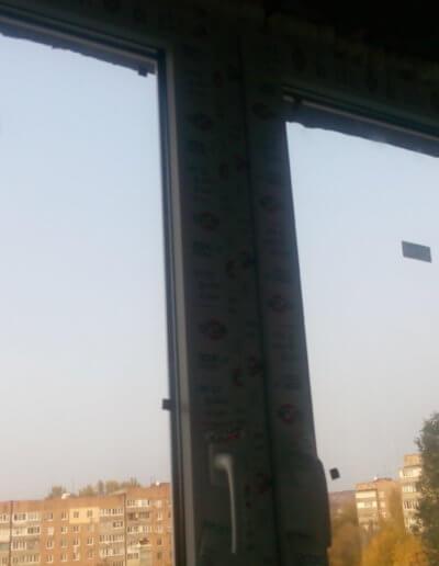 фото балкон остекление центр верх Донецк ул Щетинина 25 работа Окна Проф