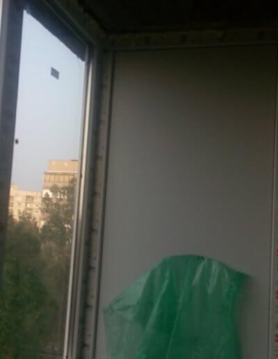 картинка балкон остекление правая сторона верх Донецк ул Щетинина 25 работа Окна Проф