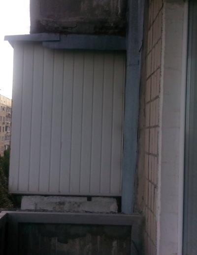 фото балкон плита после усиления правая сторона верх Донецк ул Щетинина 25 работа Окна Проф