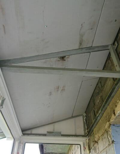 фото устройство крыши французского балкона Донецк ул Газеты Комсомолец Донбасса компанией Окна Проф вид с улицы