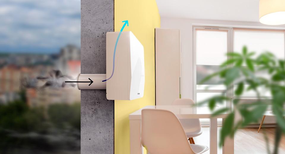 картинка приточная вентиляция внутри помещения