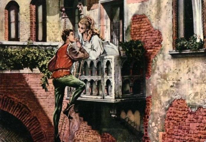 картинка балкон Джульетты