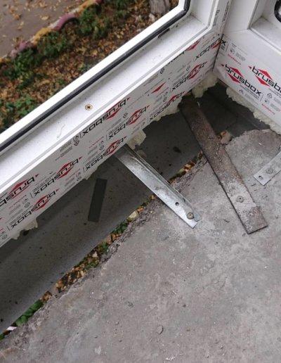 фото французский балкон брюсбокс ул шуйского 10 Донецк Окна Проф -001
