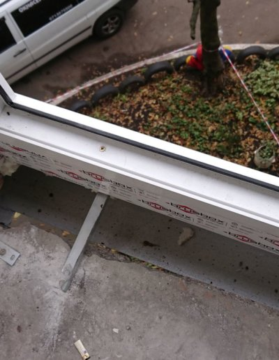 фото французский балкон брюсбокс ул шуйского 10 Донецк Окна Проф -002