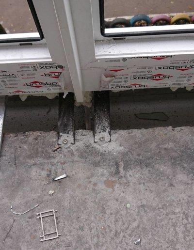 фото французский балкон брюсбокс ул шуйского 10 Донецк Окна Проф -003