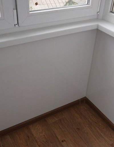фото балкон внутри Донецк Окна Проф 001
