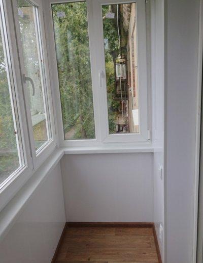 фото балкон внутри Донецк Окна Проф 005