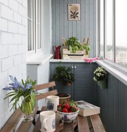 картинка цветовое решение балкона