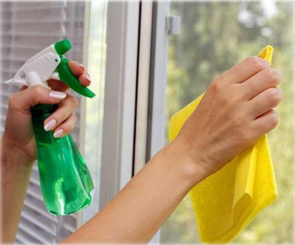картинка мытьё внутренних оконных частей