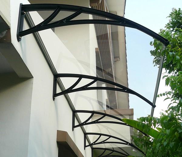 картинка односкатный балконный козырек