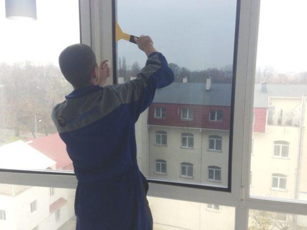 картинка тонировка балкона