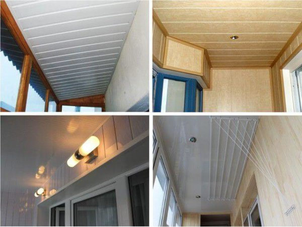 картинка потолок на балконе