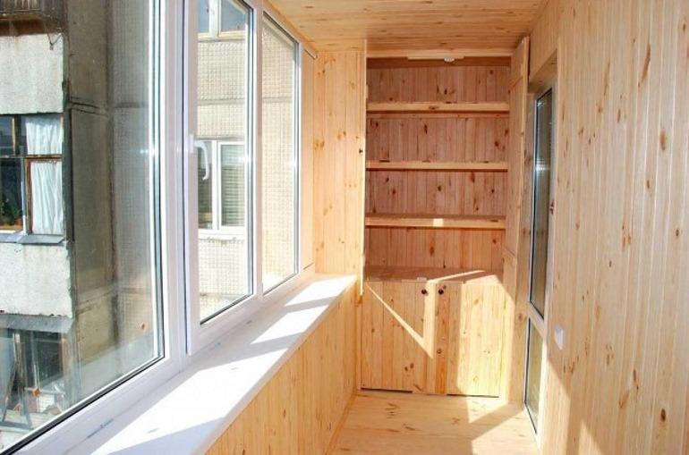 Как сделать шкаф на балконе своими руками дешево и красиво