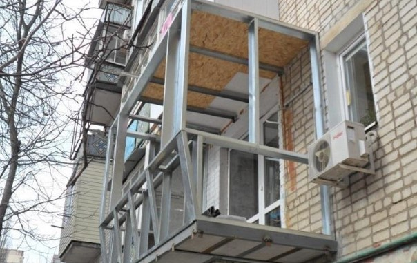 картинка расширение балкона