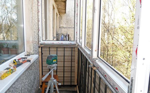 картинка застекление балкона