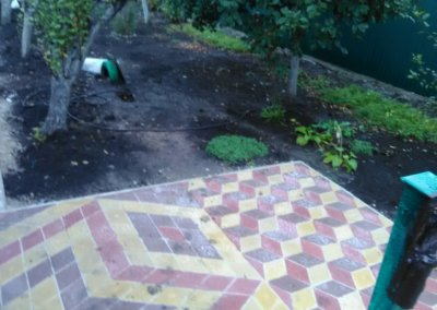 фото укладка тротуарной плитки фэм в донецке 010