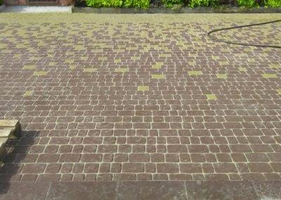 фото укладка тротуарной плитки фэм в донецке 005
