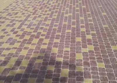 фото укладка тротуарной плитки фэм в донецке 004