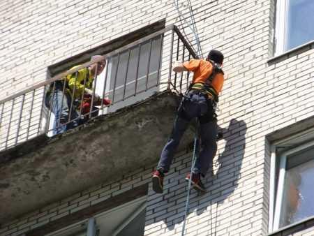 картинка усиление балконной плиты