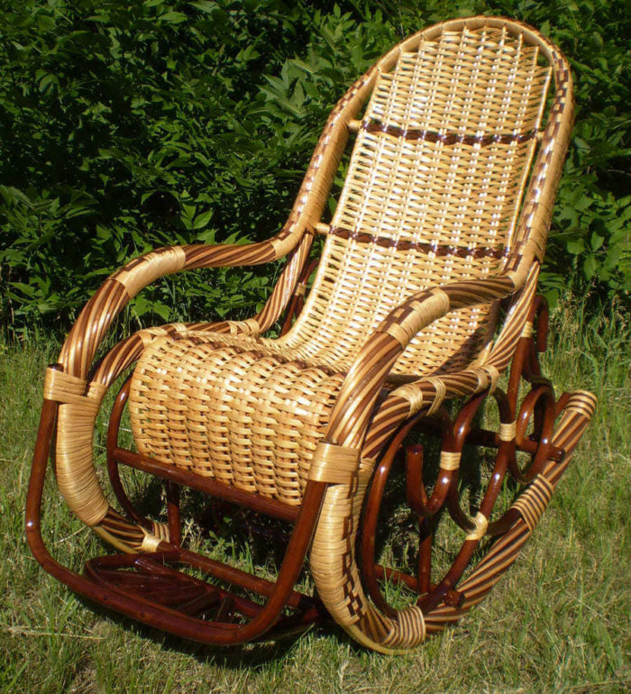 картинка кресло-качалка «Калитва»